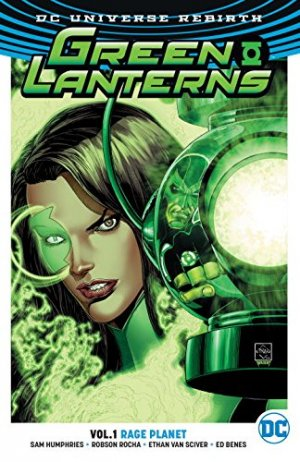 Green Lanterns édition TPB softcover (souple)