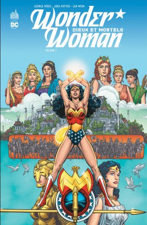 Wonder Woman - Dieux et Mortels édition TPB hardcover (cartonnée)