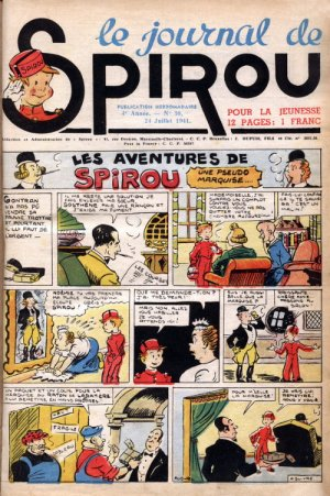 Le journal de Spirou # 171