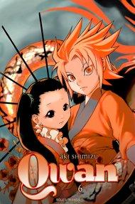 couverture, jaquette Qwan 6  (soleil manga) Manga