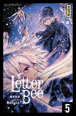 couverture, jaquette Letter Bee 5  (kana)