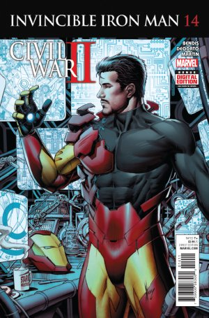 Invincible Iron Man # 14 Issues V2 (2015 - 2016)