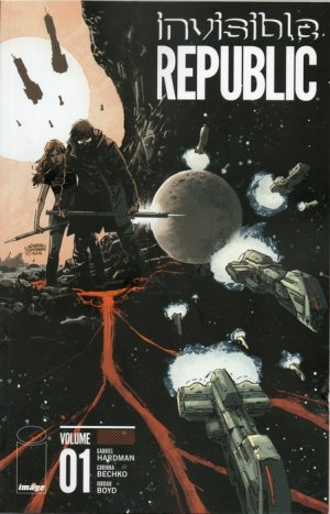 Invisible Republic édition TPB softcover (souple)