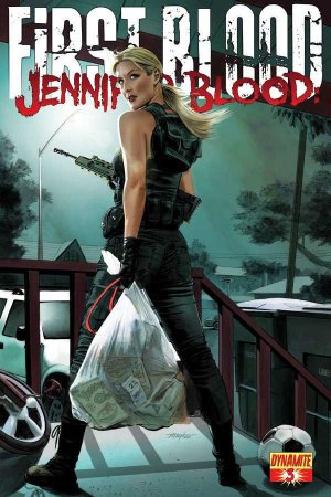 Jennifer Blood - First Blood # 3 Issues (2012 - 2013)