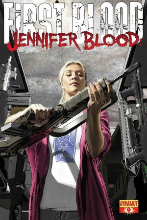 Jennifer Blood - First Blood # 4 Issues (2012 - 2013)