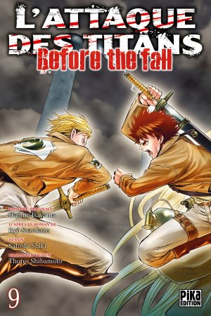 L'Attaque des Titans - Before the Fall # 9
