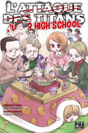 L'attaque des titans - Junior high school 7 Simple