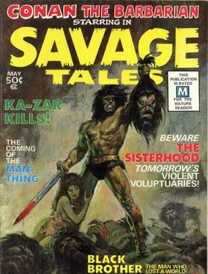 Savage Tales # 1 Issues V1 (1971 - 1975)
