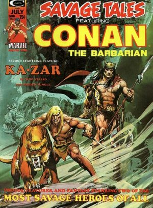 True believers - Conan the barbarian - The secret of skull river # 5 Issues V1 (1971 - 1975)