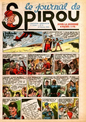 Le journal de Spirou # 252