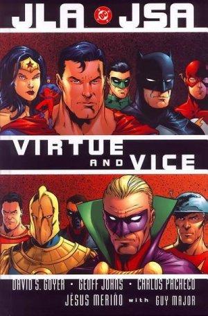 JLA - Vice et Vertu édition TPB softcover (souple)