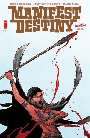 Manifest Destiny # 4 Issues