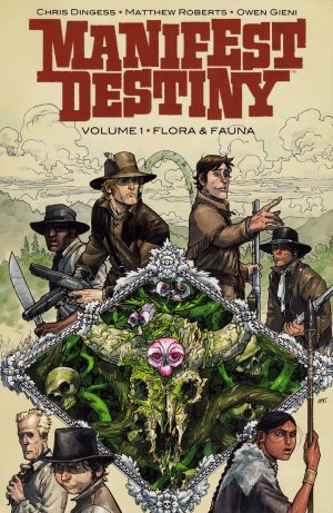 Manifest Destiny édition TPB softcover (souple)