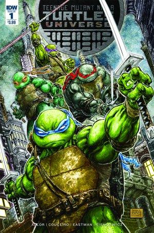 Teenage Mutant Ninja Turtles Universe édition Issues