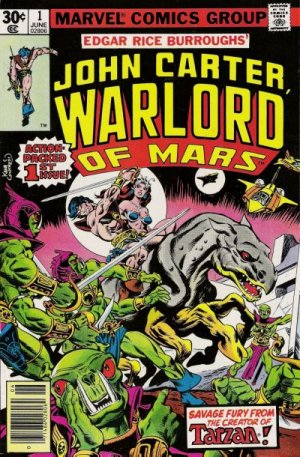 John Carter - Warlord of Mars édition Issues V1 (1977 - 1979)