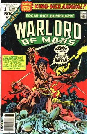 John Carter - Warlord of Mars édition Issues V1 - Annuals (1977 - 1979)