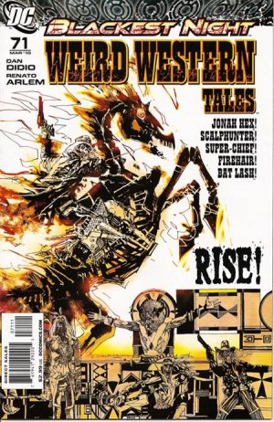 Weird Western Tales édition Issues V1 Suite (2010)
