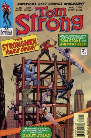 Tom Strong # 21 Issues (1999 - 2006)
