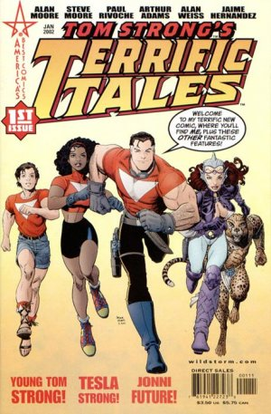 Tom Strong's Terrific Tales édition Issues (2002 - 2005)