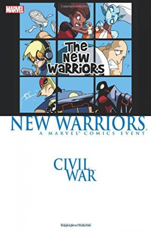 Civil war - New Warriors édition TPB softcover (souple)