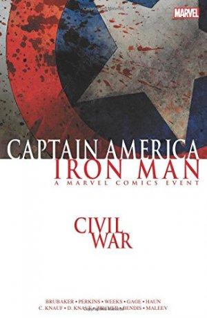 Civil war - Captain America / Iron Man édition TPB softcover (souple)