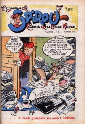 Le journal de Spirou # 351