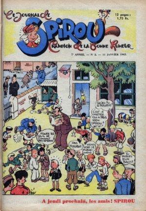 Le journal de Spirou # 352