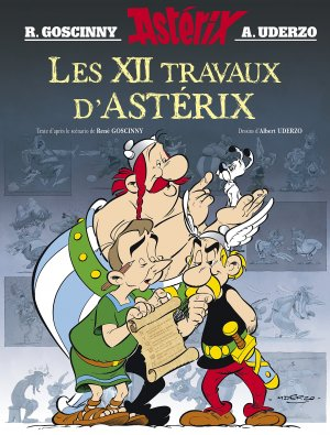 Les 12 travaux d'Astérix Hors série 1 BD