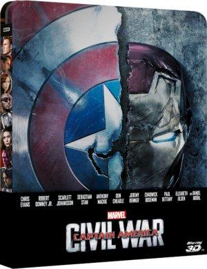 Captain America: Civil War édition Steelbook