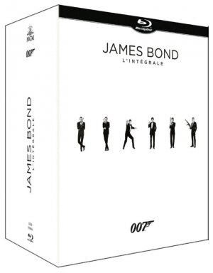 James Bond - Intégrale 50ème anniversaire édition Intégrale 24 films