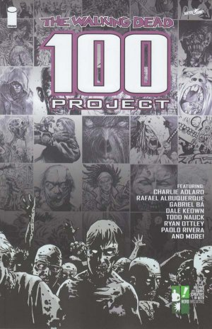 The Walking Dead - 100 Project édition TPB hardcover (cartonnée) - Limited