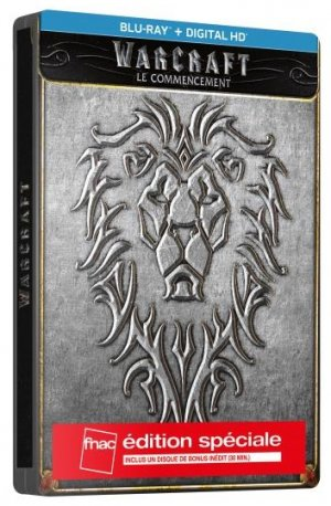 Warcraft : Le commencement édition Steelbook Blu-ray édition FNAC