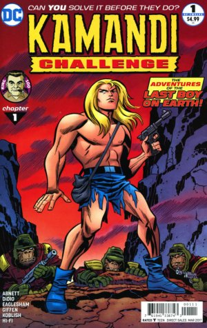 The Kamandi Challenge édition Issues (2017)
