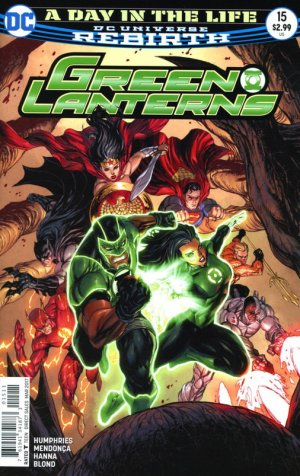 Green Lanterns 15 - A Day in the Life