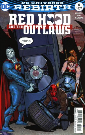 Red Hood and The Outlaws # 6 Issues V2 (2016 - Ongoing) - Rebirth