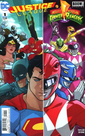 Justice League / Power Rangers édition Issues (2017)