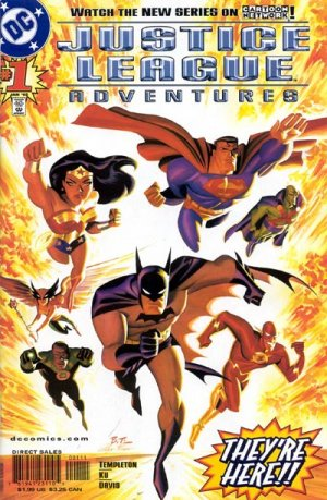 Justice League Aventures édition Issues (2002 - 2004)
