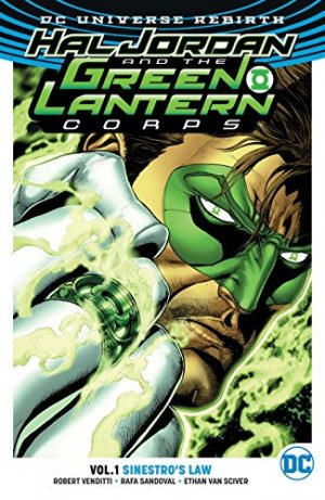 Green Lantern Rebirth édition TPB softcover (souple)