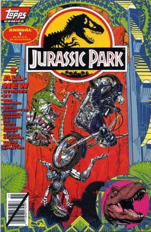 Jurassic Park édition Issues V1 - Annuals (1995)