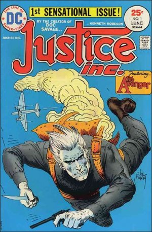 Justice Inc. édition Issues V1 (1975)