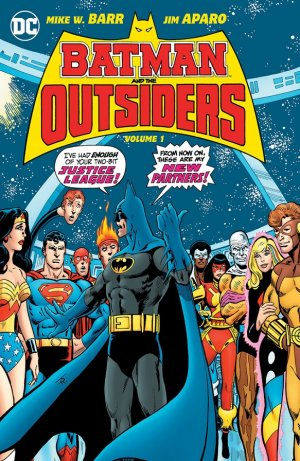 Batman and the Outsiders édition TPB hardcover (cartonnée) - Issues V1
