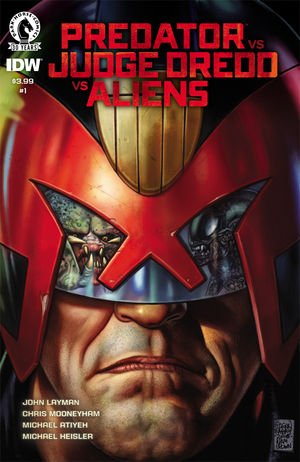 Judge Dredd Aliens Predator édition Issues (2016 - Ongoing)