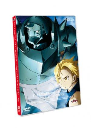 couverture, jaquette Fullmetal Alchemist Brotherhood 2 Slim (Dybex)