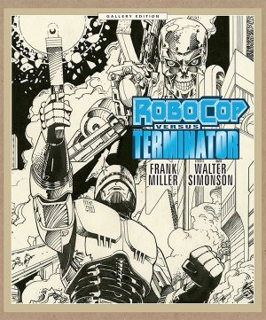 Robocop vs Terminator édition TPB hardcover (cartonnée) - Gallery Edition