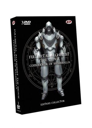 Fullmetal Alchemist - Film 1 - Conqueror of Shamballa édition COLLECTOR SIMPLE