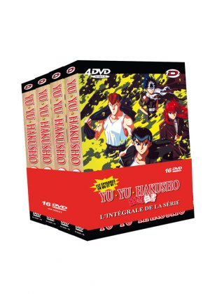 YuYu Hakusho édition PACK INTEGRAL
