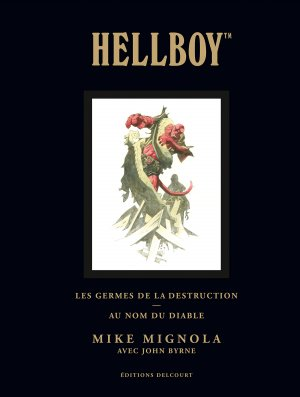 Hellboy édition TPB Hardcover (cartonnée) - Deluxe