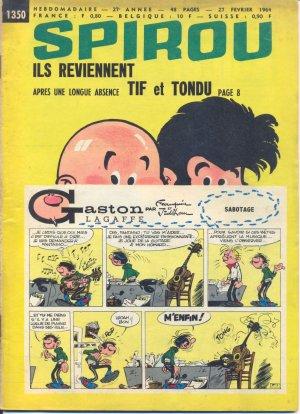 Album Spirou (recueil) # 1350