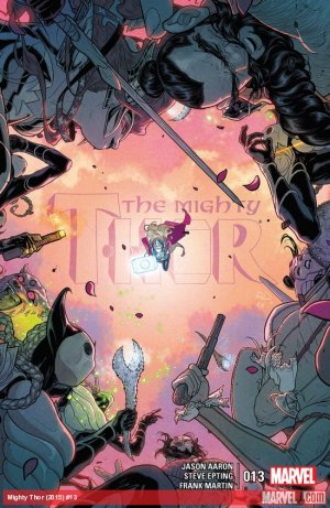 The Mighty Thor # 13 Issues V2 (2015 - 2018)