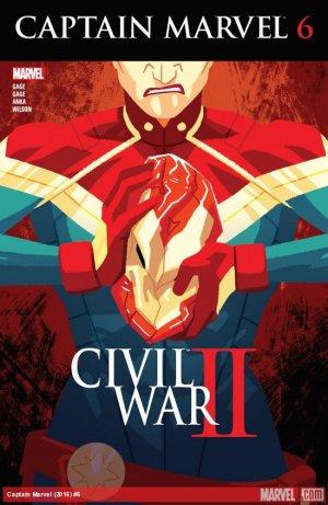 Captain Marvel # 6 Issues V10 (2016 - 2017)